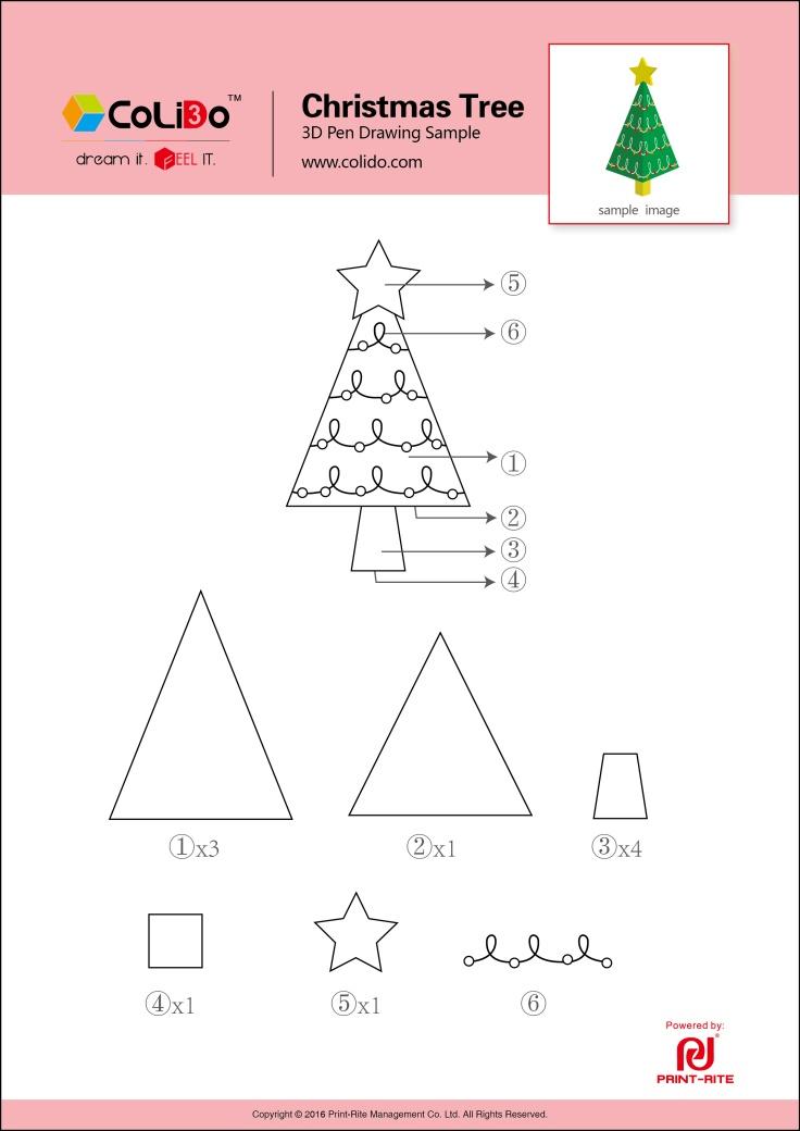 Kerstboom 3d 3d Pen 3d Pen Inspiratie