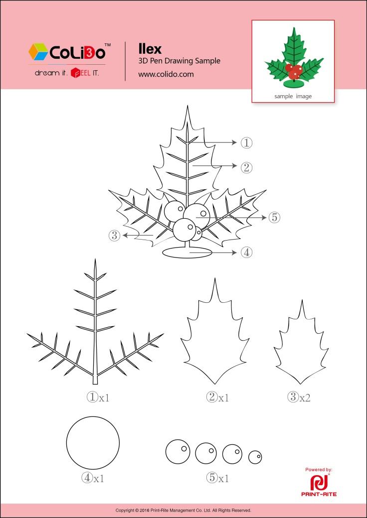 CoLiDo-3d-pen-stencil-ilex