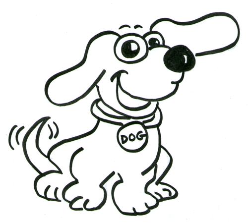 honden_kleurplaat
