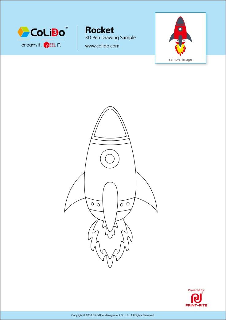 colido-3d-pen-stencil-rocket
